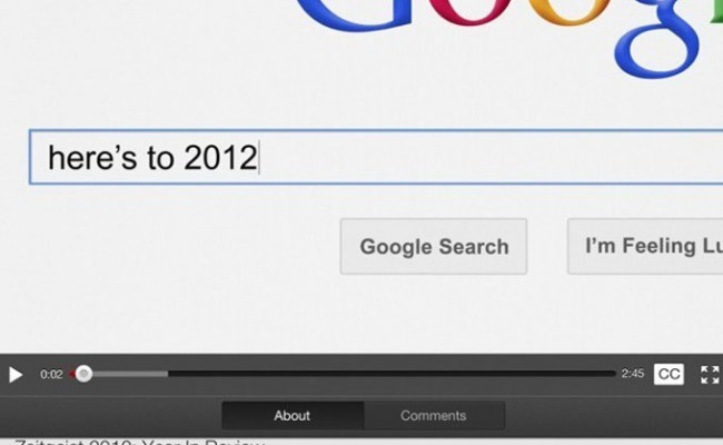 Google's 2012 Year In Review